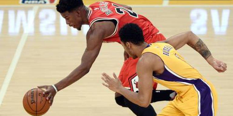 Butler loodst Bulls langs Lakers