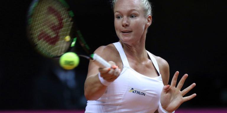 Tennisster Bertens klimt op wereldranglijst
