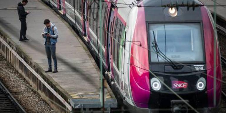 Machinist laat trein achter