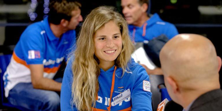 Kyranakou/Van Veen vierde in medaillerace