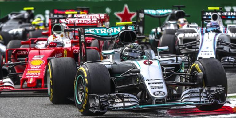 Verstappen zevende op Monza, Rosberg wint