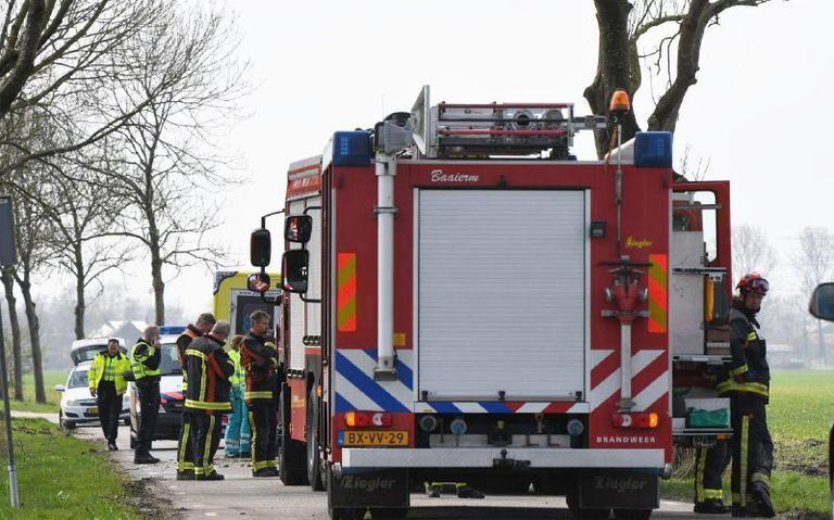 Automobilist omgekomen bij ongeval in `t Zandt.