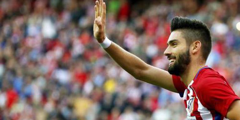 Carrasco helpt Atlético aan koppositie