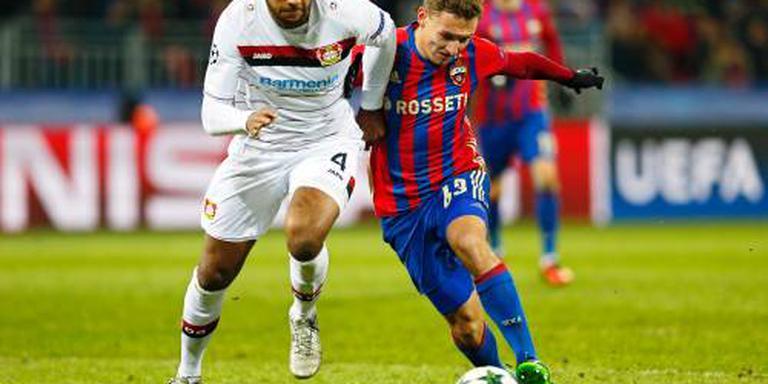 CSKA uitgeschakeld na remise tegen Bayer