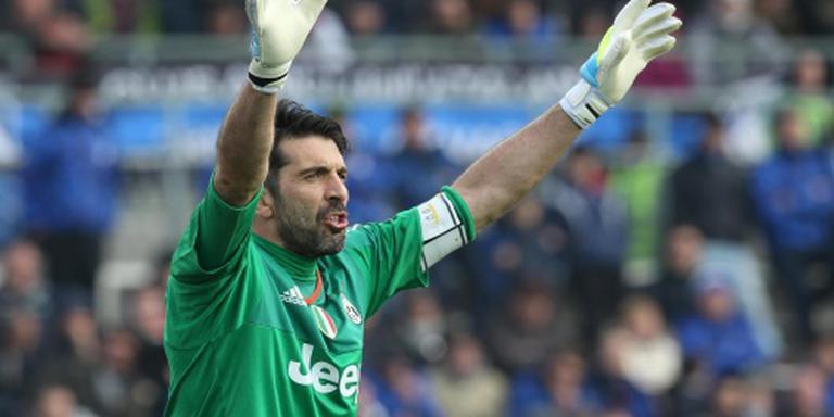 Juventus met Buffon en Barzagli in de slag