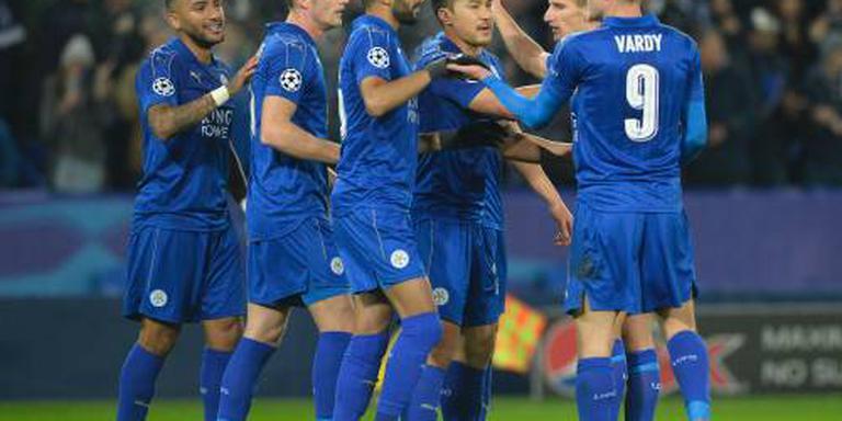 Leicester City naar achtste finales