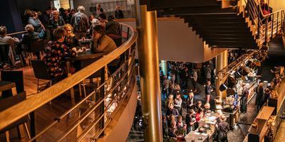 Sfeerimpressie van het Noordelijk Film Festival op zondag. Foto: Lucas Kemper