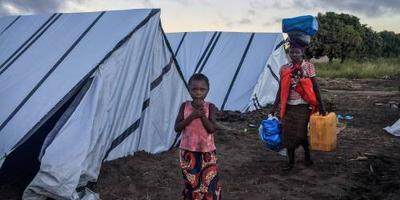 1 miljoen kinderen getroffen door cycloon Idai