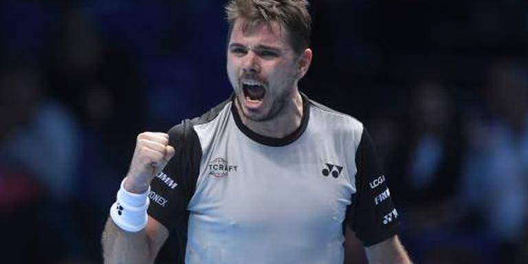 Wawrinka klopt Cilic in twee sets
