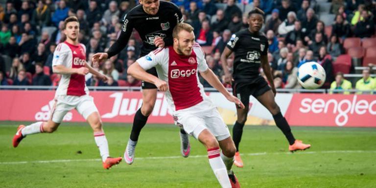Van der Hoorn ontsnapt aan rood