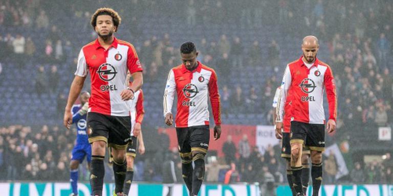 Van Bronckhorst: mokerslag voor Feyenoord
