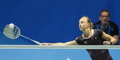 Badmintonners kansloos in halve finale EK