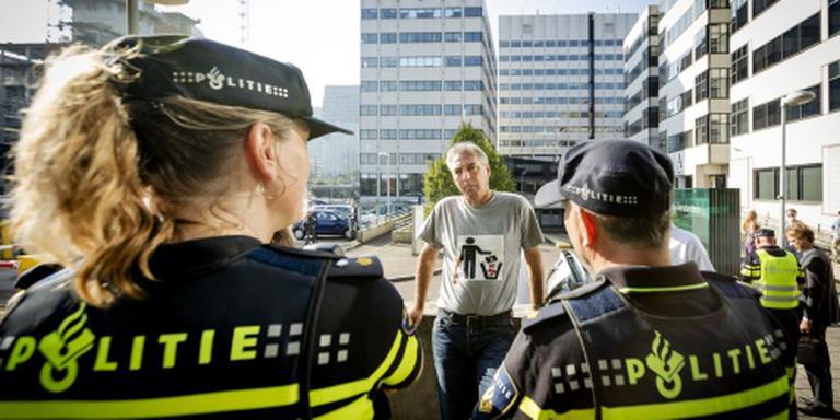 Pegida-voorman weer aangehouden in Den Haag
