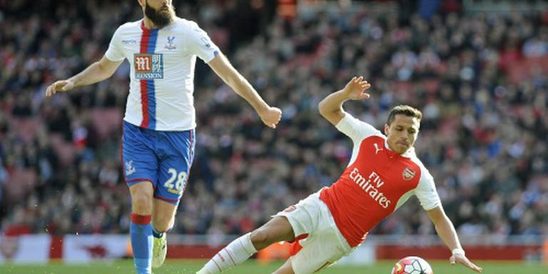 Arsenal geeft zege weg tegen Crystal Palace