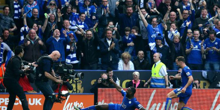 Leicester City verstevigt koppositie Engeland