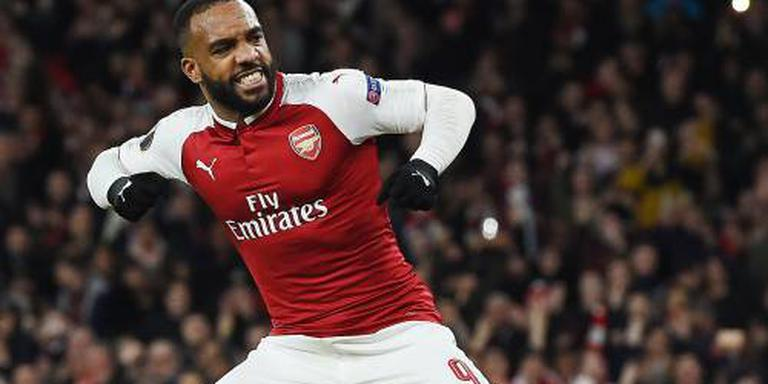 Arsenal in slotminuut naast Chelsea