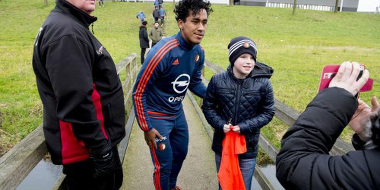 Feyenoord met Tapia tegen Ajax