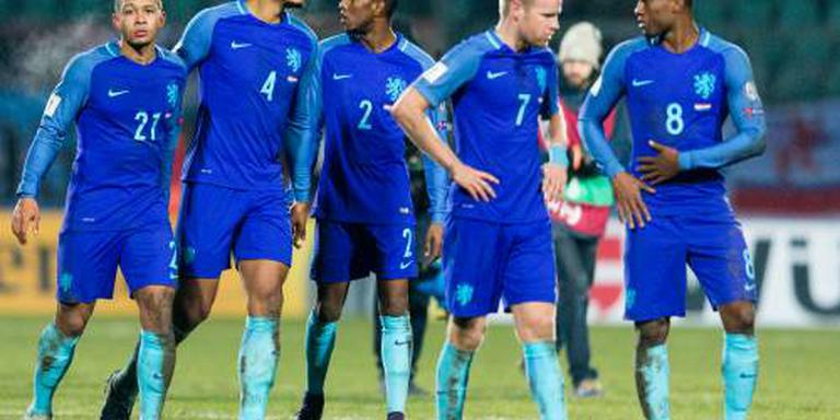 Oranje zakt twee plaatsen op FIFA-ranglijst