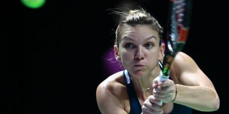 Halep begint sterk aan WTA finals