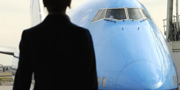 KLM Boeing terug naar Schiphol