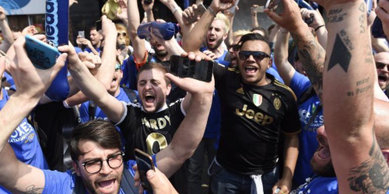 Leicester viert titel met zege