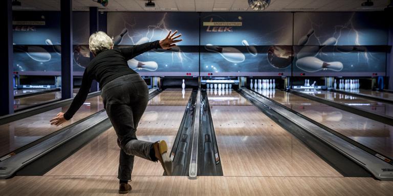 Toptrainer bowlen geeft clinic in Veendam