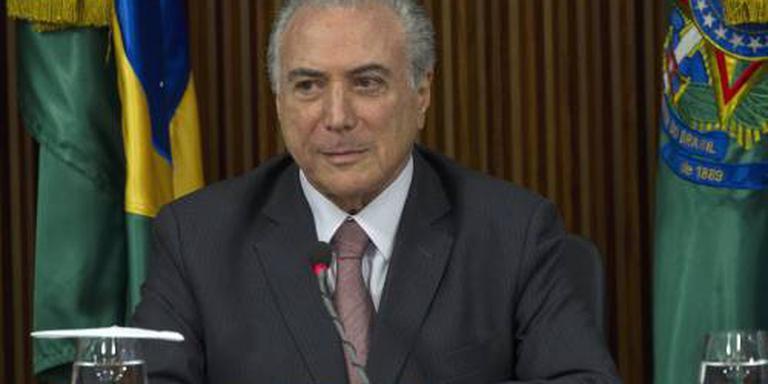 President Brazilië genoemd in schandaal