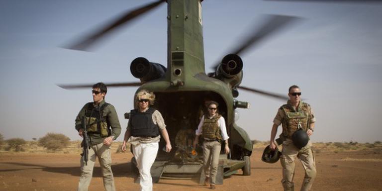 'Geen extra zorgen over militairen in Mali'
