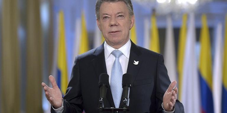 'Meeste Colombianen voor vrede met FARC'