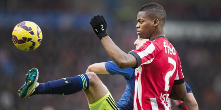 PSV met Isimat en Pereiro tegen Willem II