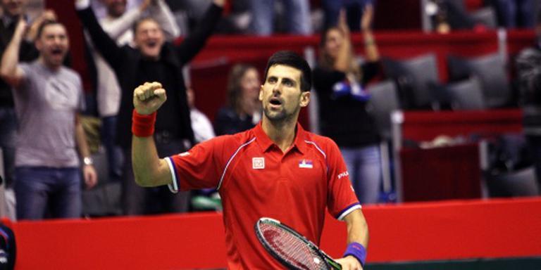 Djokovic tegen Murray in Daviscup