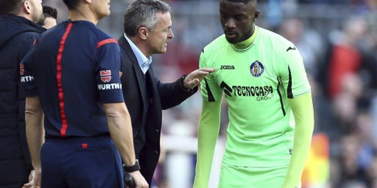 FC Getafe stuurt trainer weg