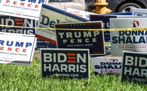 De race tussen Trump-Biden naar het Witte Huis: een frustrerende kermis