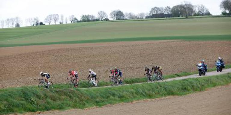 Amstel Gold Race past finale aan