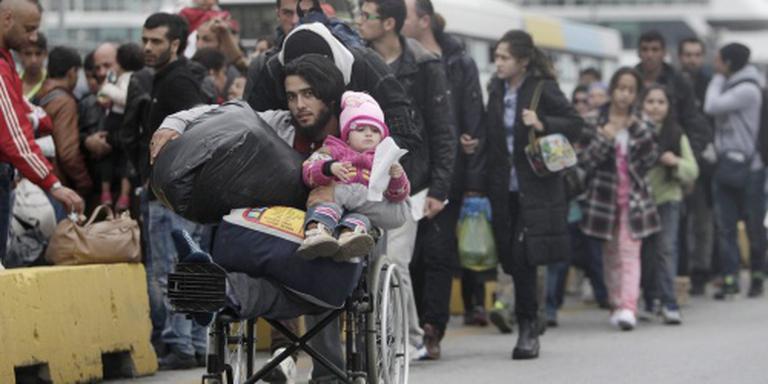 Minder vluchtelingen via Turkije naar EU