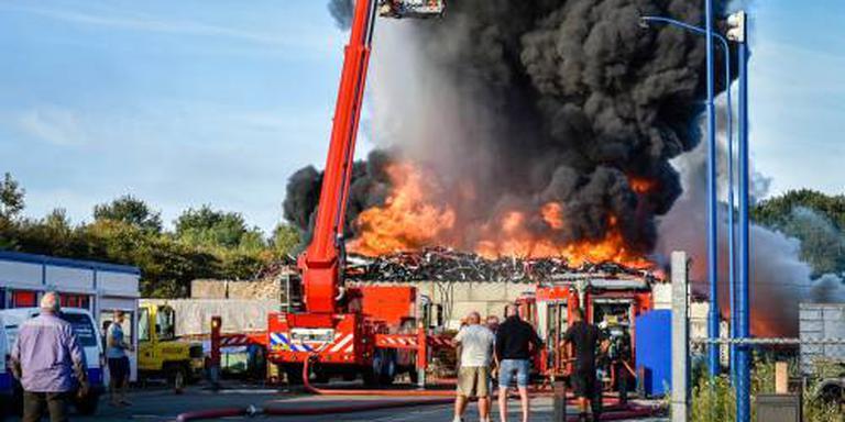 Afvalbrand Drenthe na twee dagen geblust