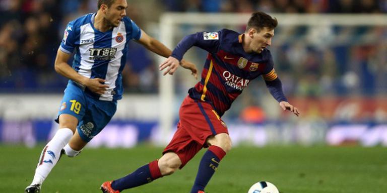 Barcelona verslaat Espanyol opnieuw