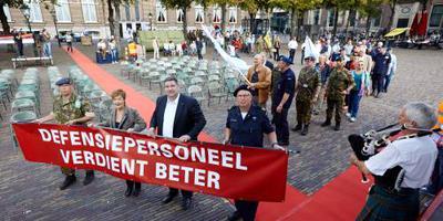 Militaire vakbond teleurgesteld in begroting