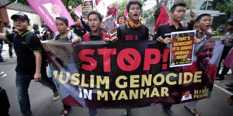 'Moslims Myanmar collectief afgestraft'