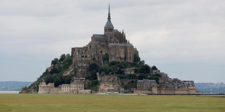 Tour op gang bij Mont-Saint-Michel