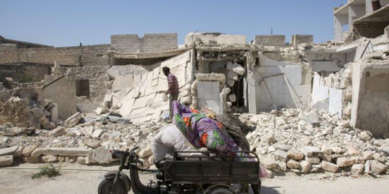 Weer zwaar bombardement Aleppo