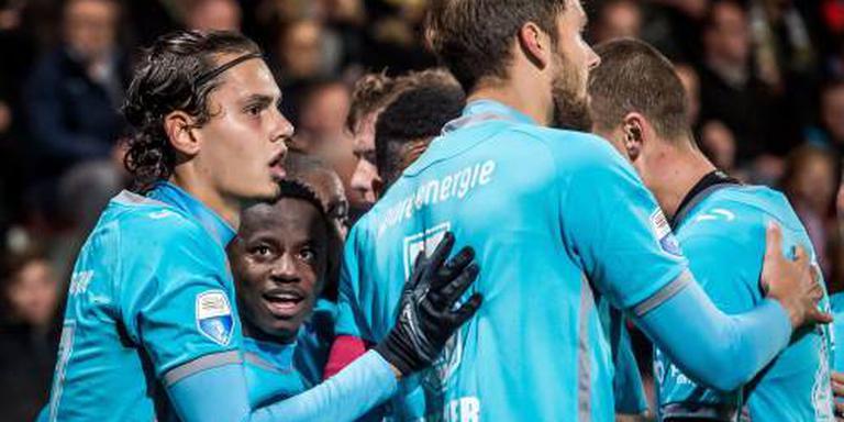 Winnend FC Twente nog lief voor Eagles