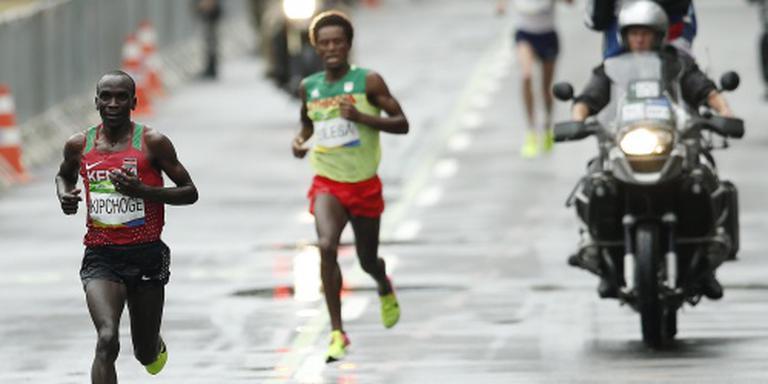 Kipchoge klasse apart in olympische marathon