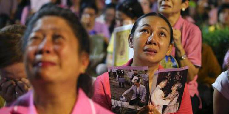 Nationale vrije dag in Thailand voor rouw