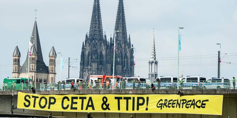 Schattingen Duits TTIP-protest lopen uiteen