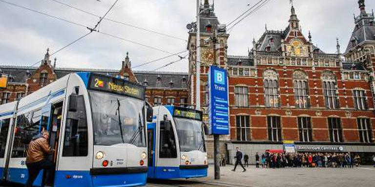 Poortjes Amsterdam Centraal dicht