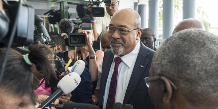 Oppositie: Bouterse mengt zich in rechtsgang