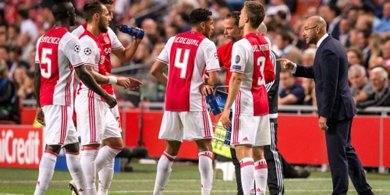 Ajax speelt gelijk tegen FK Rostov