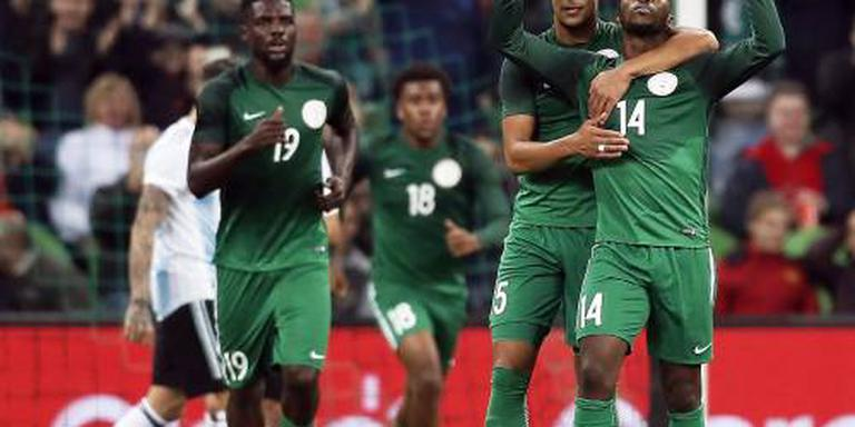 Treffer Troost-Ekong niet genoeg voor Nigeria