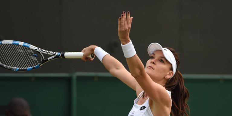 Radwanska overleeft matchpoints